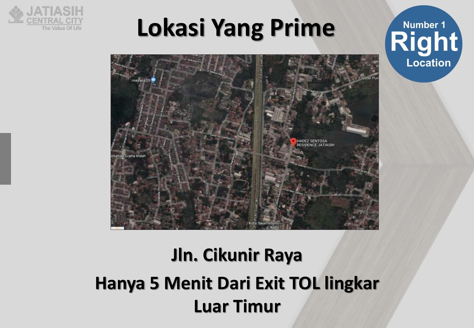 lokasi-jati-central-city