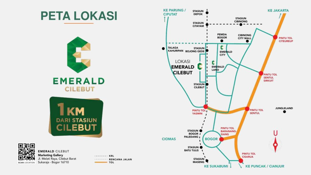 lokasi-emerald-cilebut