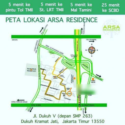 Townhouse ARSA RESIDENCE @ Jakarta Timur (dekat TMII)
