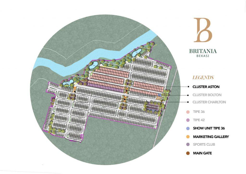 siteplan-britania-bekasi