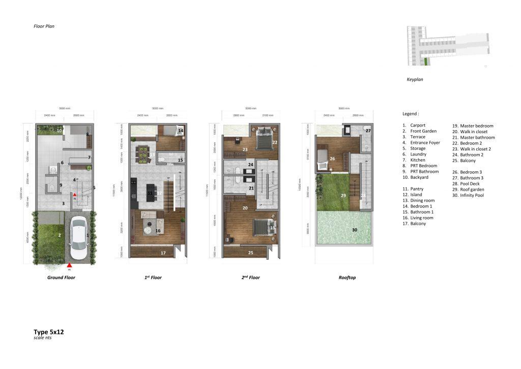 layout-permata-hijau-mansion